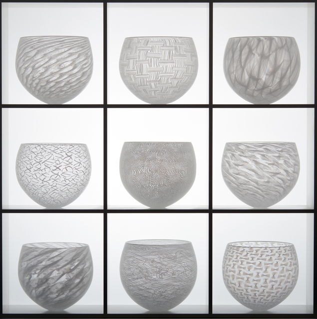 , 'NINE PART WHITE LACE COLLECTION,' , Heller Gallery
