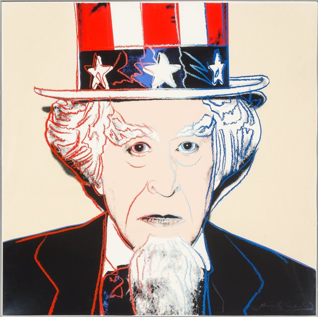 Andy Warhol, 'Uncle Sam', 1981, Print, Screenprint in colors with diamond dust on Lenox Museum Board, Heritage Auctions