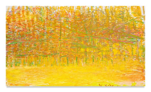 Wolf Kahn, 'Dense', 2018, Miles McEnery Gallery