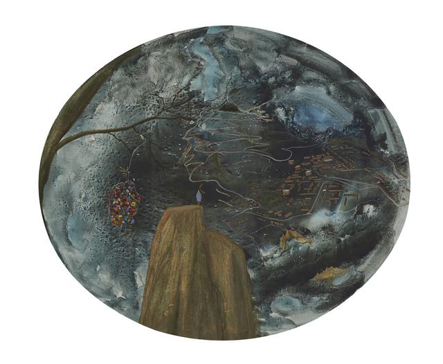 , 'Hinterlands At Nightfall,' 2013, Riccardo Crespi