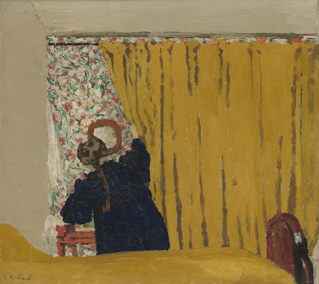 , 'The Yellow Curtain,' 1893, Seattle Art Museum