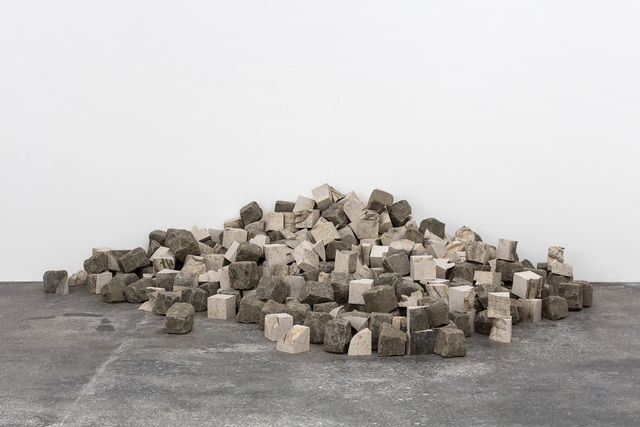 , 'Cobblestone (Atlas),' 2016, Galleri Nicolai Wallner