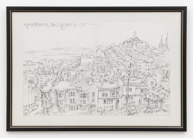 , 'North Beach MW August 16 1975,' 1975, Anglim Gilbert Gallery