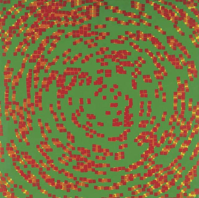 , '20% de carrés superposés,' 1970, Dan Galeria