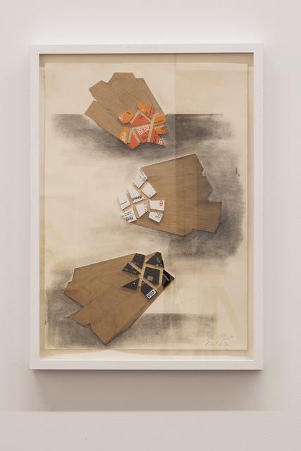 Richard Wilson, 'Direct Debit', 2018, Galleria Fumagalli
