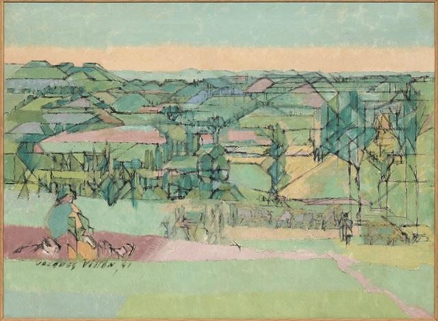, 'Paysage du Tarn-et-Garonne,' 1941, DICKINSON