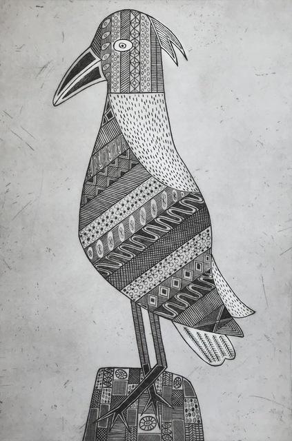 , 'Kawukawunga (Female Bush Turkey),' 2017, Queenscliff Gallery & Workshop
