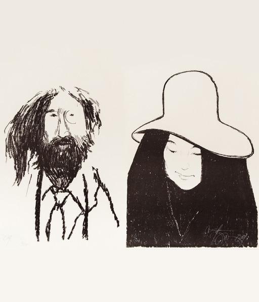 , 'John & Yoko,' 1969, Caviar20