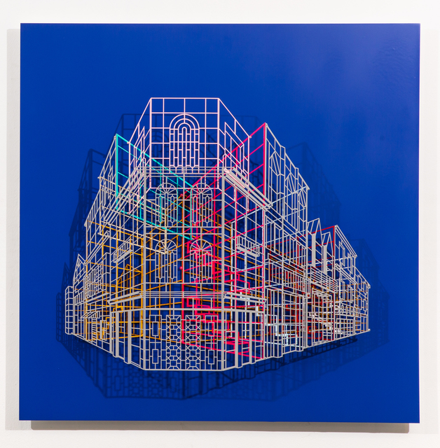 , 'Ambiguous wall,' 2015, Pyo Gallery