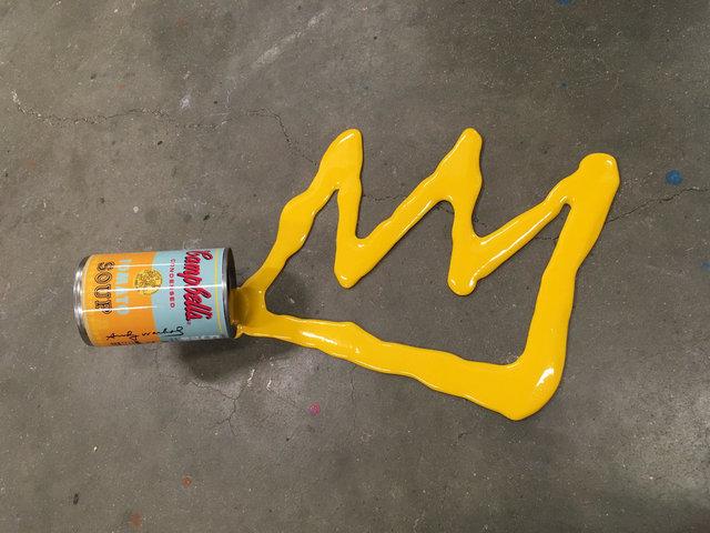 , 'Warhol / Basquiat,' 2017, Reem Gallery