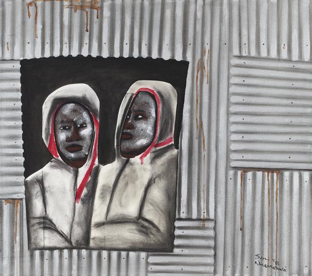 , 'Waiting inside,' 2018, Goodman Gallery