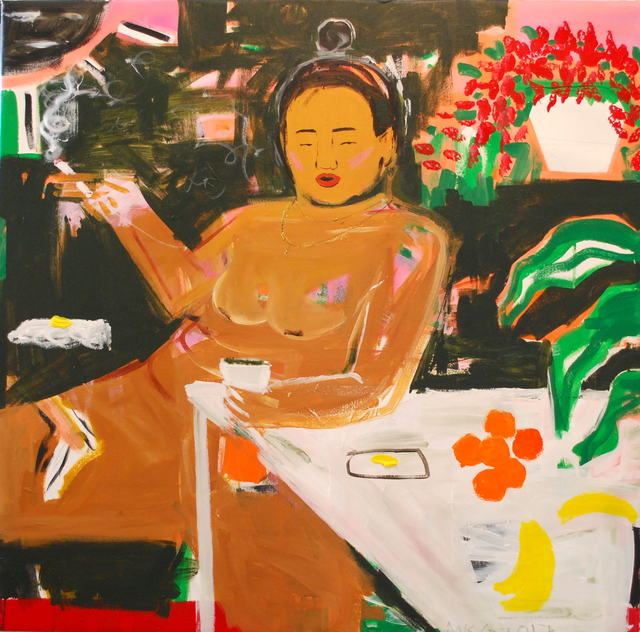 , 'Smoke, Drank, Coffee, Dank,' 2017, V1 Gallery