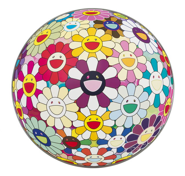 Takashi Murakami, 'Flowerball Sexual Violet No.1 (3D)', 2013, Julien's Auctions