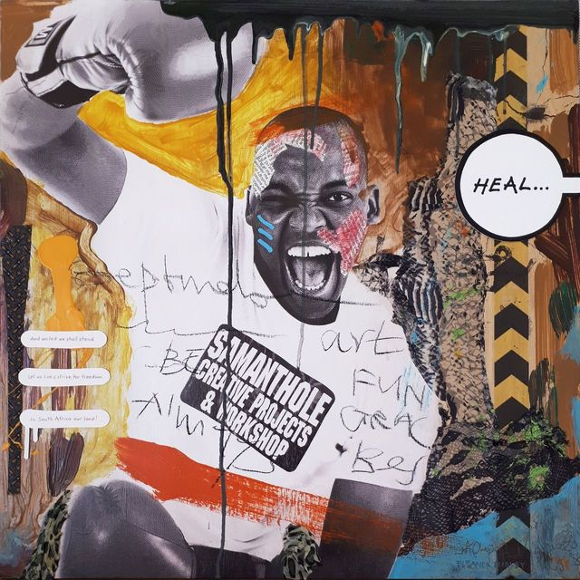 Eleanor Turvey and Chepape Khehla Makgato, 'The Future is a Collaboration III', Erdmann Contemporary