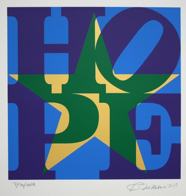 , 'Star of Hope (Unique) - Purple/Green/Gold/Blue,' 2013, Long-Sharp Gallery