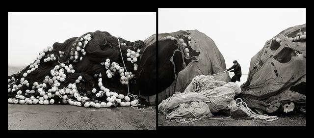 , 'Self Portrait, Pulling Nets, Neskaupsstaður, Iceland,' 2014, Vision Neil Folberg Gallery