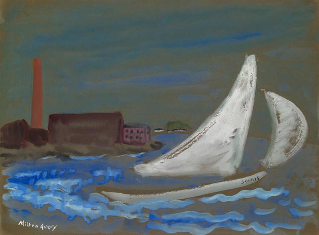 Milton Avery, 'Untitled (Souris Under Sail)', ca. 1930, Yares Art