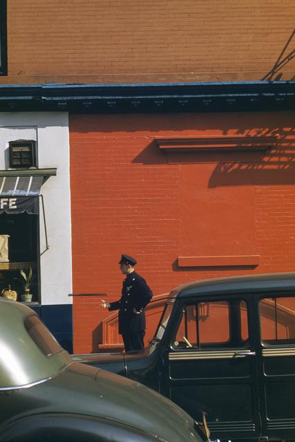 , 'Policeman and nightstick, New York, USA,' 1953, David Hill Gallery