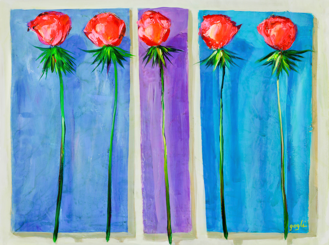 , 'Romantic Roses,' 2015, Blue Gallery