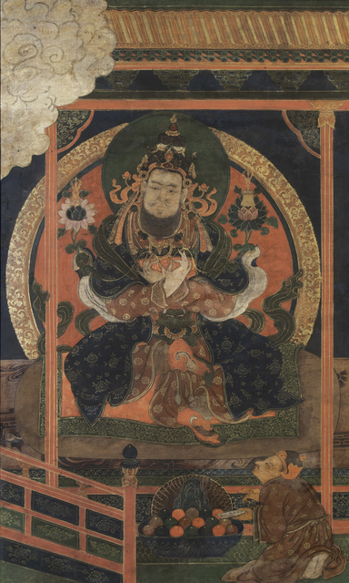 , 'Thangka of King Ralpachen,' Late 17th century, Rossi & Rossi