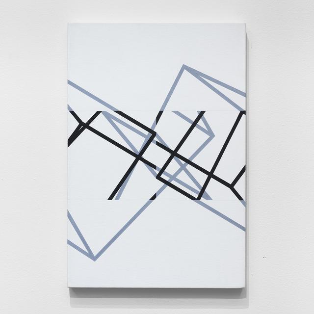 Manfred Mohr, 'P-332-B', 1980-1983, bitforms gallery