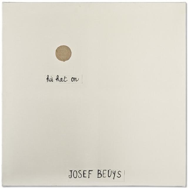 Robert Filliou, 'Josef Beuys (Bien fait, Mal fait, Pas fait)', 1972, Richard Saltoun