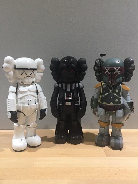 KAWS, 'Set of Three Companions: Storm Trooper, Darth Vader, Boba Fett', MSP Modern