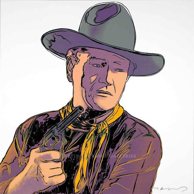 Andy Warhol, 'John Wayne, 1986 (#377, Cowboys & Indians)', 1986, Martin Lawrence Galleries