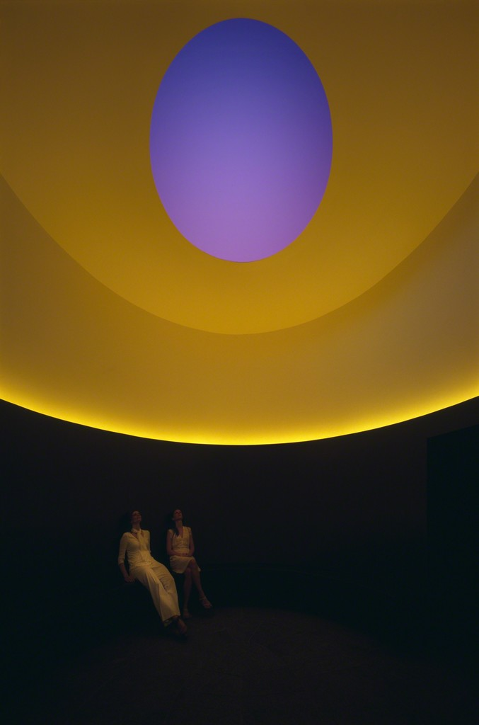 James Turrell, The Color Inside, 2013. Photo by Florian Holzherr. Courtesy of Landmarks, the public art program of The University of Texas at Austin.