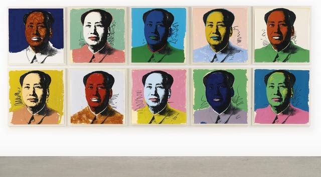 Andy Warhol, 'Mao (F&S II. 90-99)', 1972, Joseph K. Levene Fine Art, Ltd.