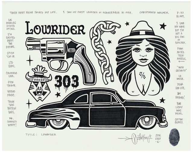 , 'Lowrider,' 2016, Black Book Gallery
