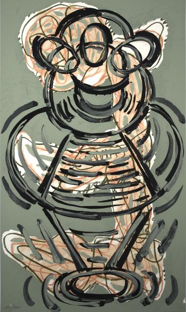 Luis Gordillo, 'Triptico', 1990, Marlborough Graphics