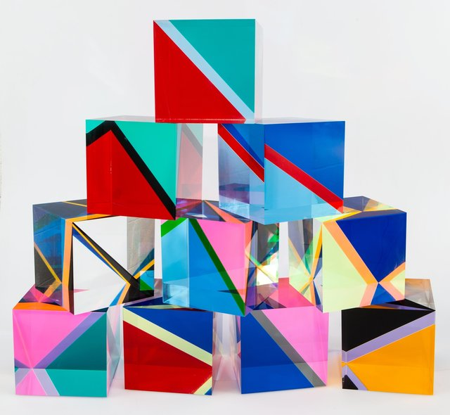 Vasa Velizar Mihich, 'Sculpture #2243 (10 Cubes)', 1983, Heritage Auctions