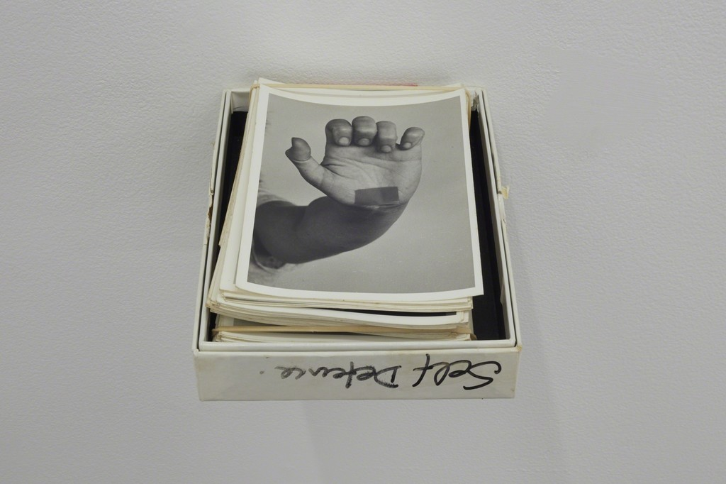 Gil Hanly untitled (from the Self Defence series) c. 1983 gelatin silver print 155mm x 110mm