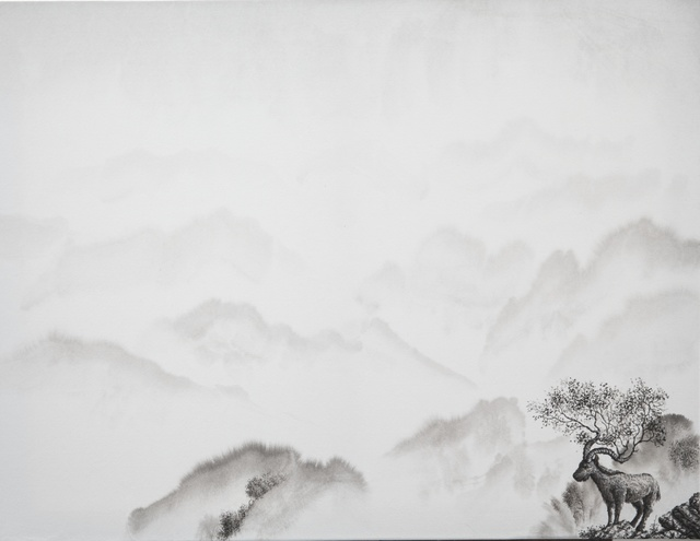 , 'Chaman's Dream II (Tribute to Ma Yuan) ,' 2016, Galerie Dumonteil