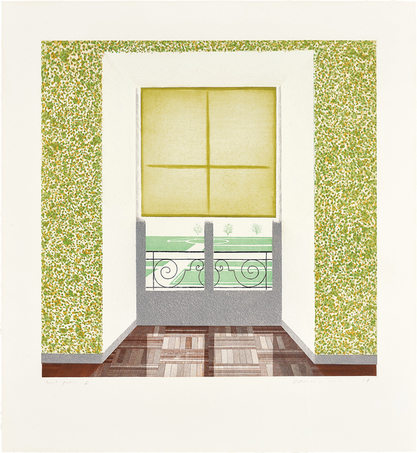 David Hockney, 'Contrejour in the French Style', 1974, Phillips