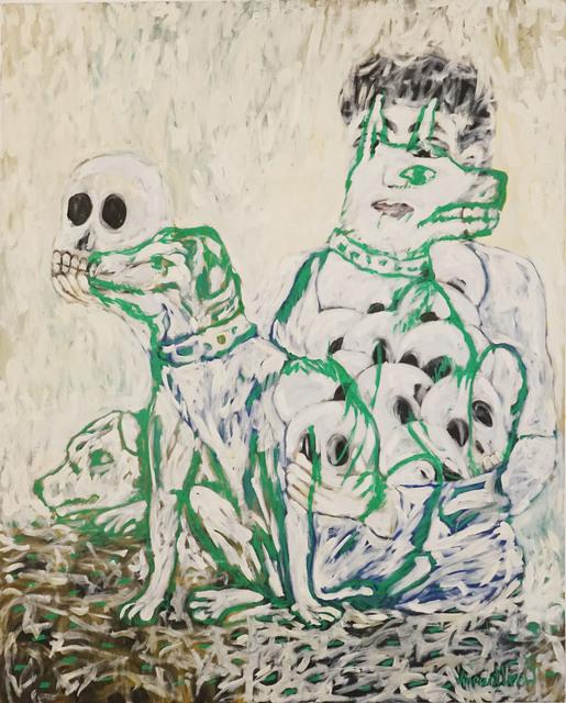, 'White Dogs,' 2012, ShanghART