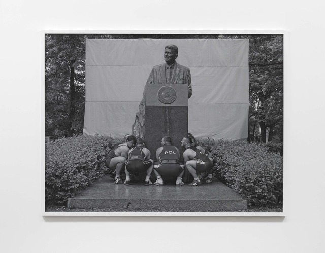 , 'Heavy Weight History (Ronald Reagan),' 2013, Lisson Gallery