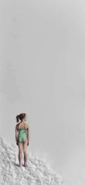 Pablo Arrazola, 'Girl in Green Swimsuit', 2018, Beatriz Esguerra Art