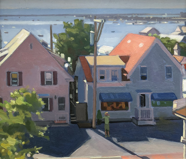 , 'Provincetown Backlight,' 2019, William Baczek Fine Arts