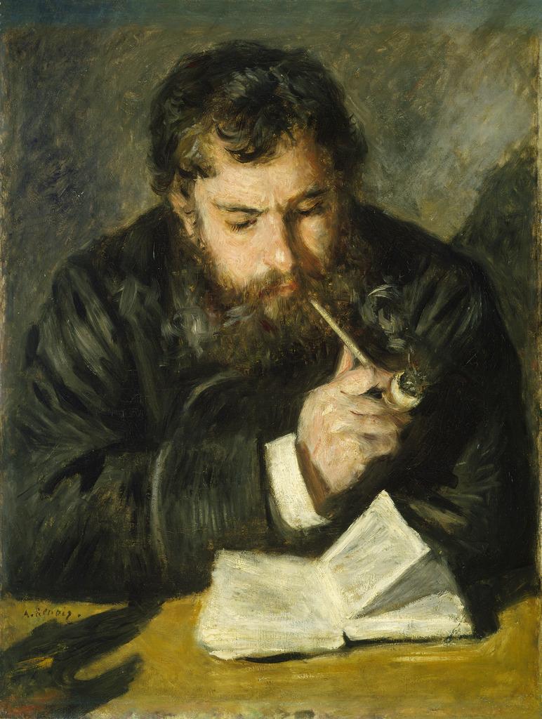 Pierre Auguste Renoir Claude Monet 1872