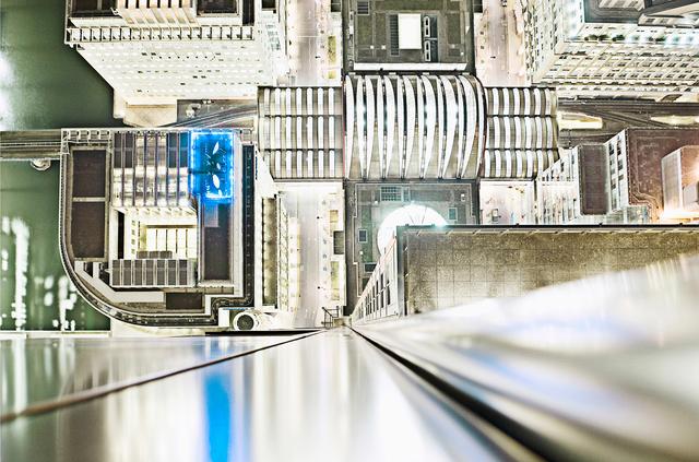 , 'Neon Blue, (Vertigo Series),' 2008, Holden Luntz Gallery