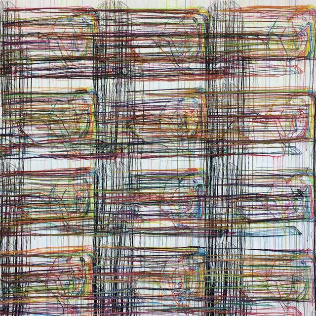 , 'The Grid of 2017-RFGA,' 2017, Goodman Gallery