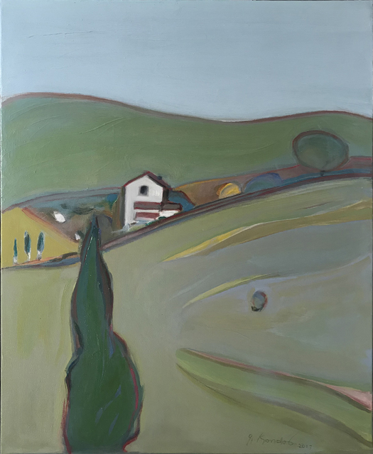 , 'Napa Countryside,' 2018, Caldwell Snyder Gallery