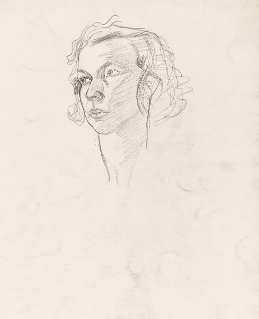 , 'Head of a Girl,' 1925-1930, The Scottish Gallery