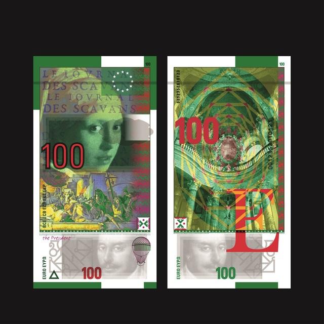 , 'Billet 100 Euro, Série « Epoques et Styles »,' 2018, Artvera's Art Gallery