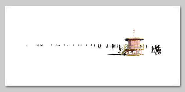 , 'Beach 87,' 2013, Lanoue Gallery