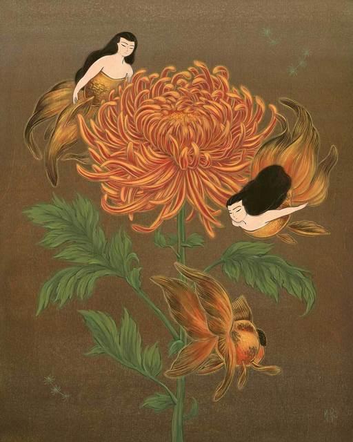 , 'The Wise Chrysanthemum ,' 2018, Modern Eden