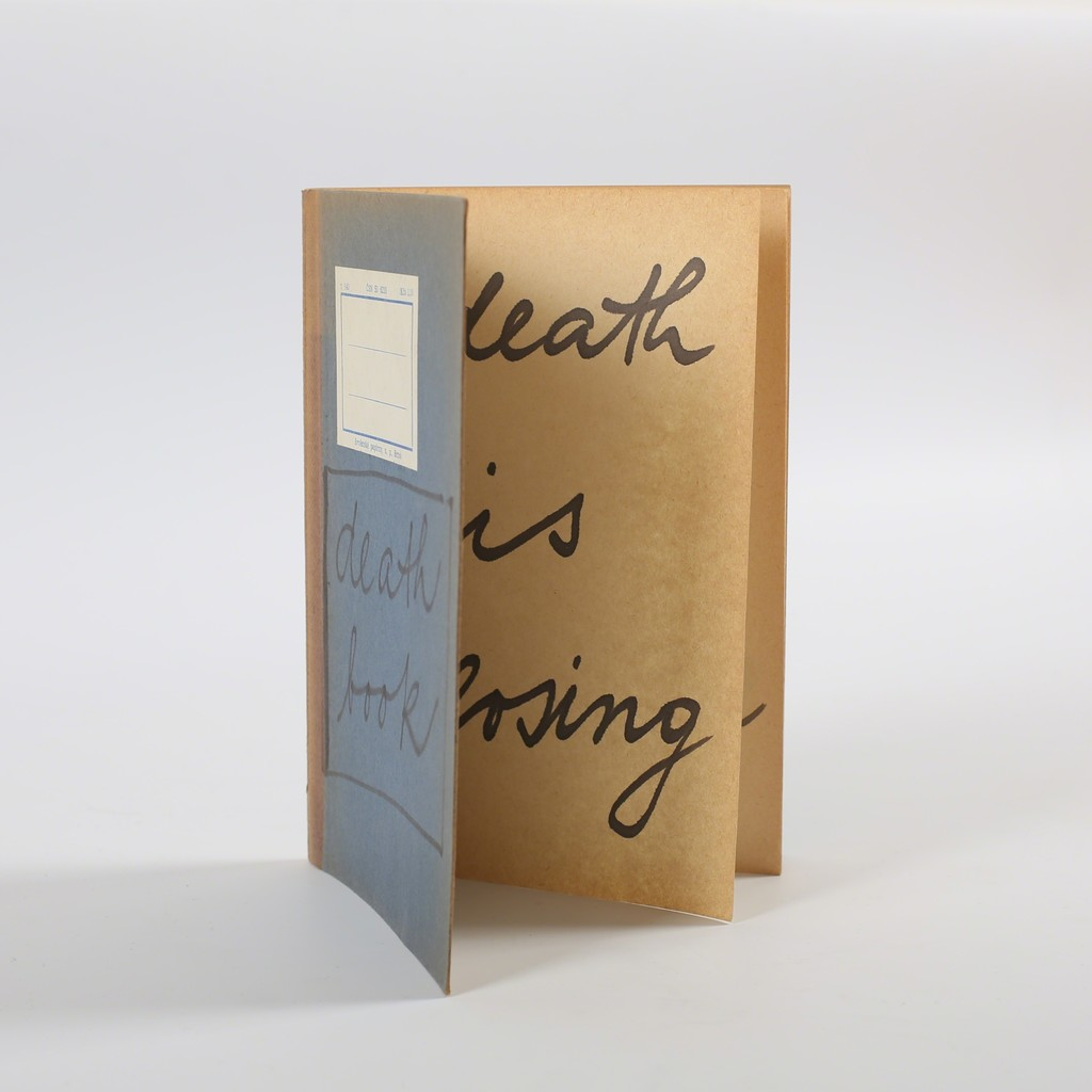 Jiri Valoch, Death Book, 1968, on view from Friday 27 April at Galerie aKonzept.