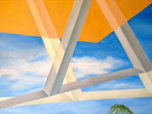 , 'Hurdles in Conflict,' 2015, Joshua Tree Art Gallery